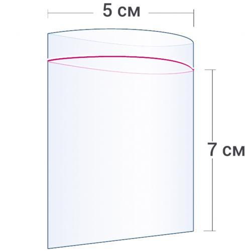 Пакет с замком Zip Lock 5 х 7 см оптом