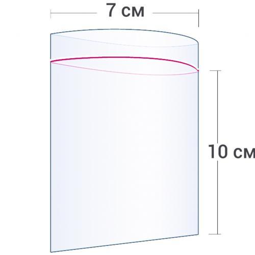 Пакет с замком Zip Lock 7 х 10 см оптом