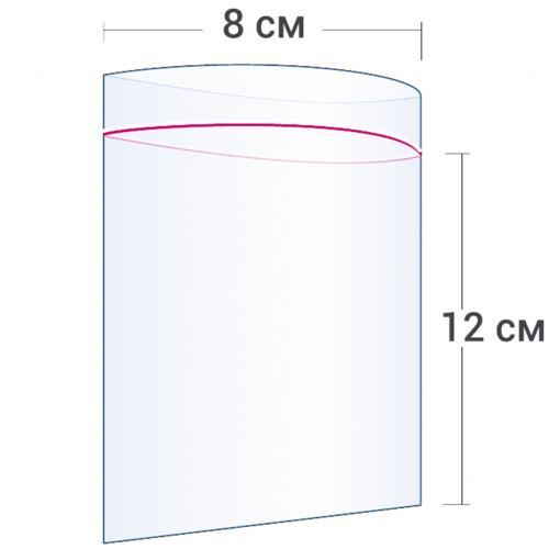 Пакет с замком Zip Lock 8 х 12 см оптом