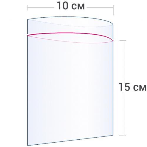 Пакет с замком Zip Lock 10 х 15 см оптом