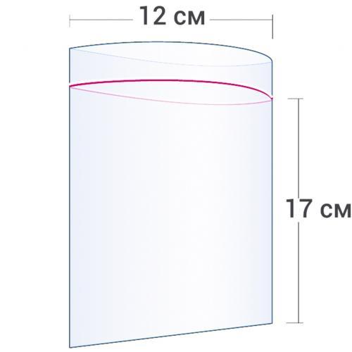 Пакет с замком Zip Lock 12 х 17 см оптом