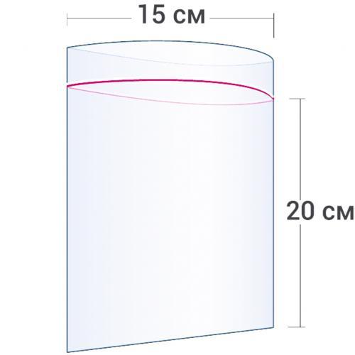 Пакет с замком Zip Lock 15 х 20 см оптом