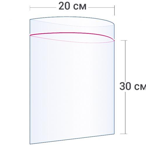 Пакет с замком Zip Lock 20 х 30 см оптом