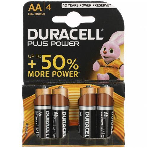 Батарейки Duracell AA пальчиковые 4 шт оптом