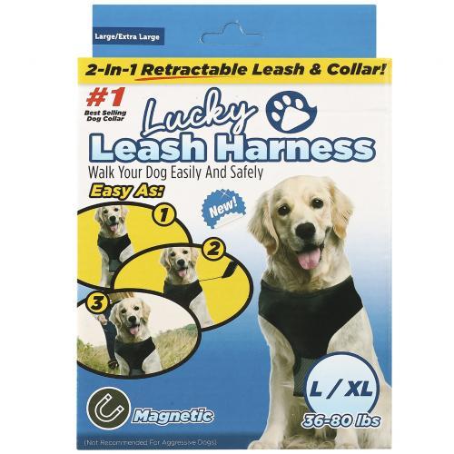 Поводок для собак Lucky Leash Harness L/XL оптом