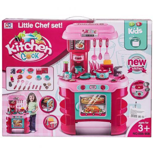 Детская кухня Little Chef Kitchen 35 предметов оптом