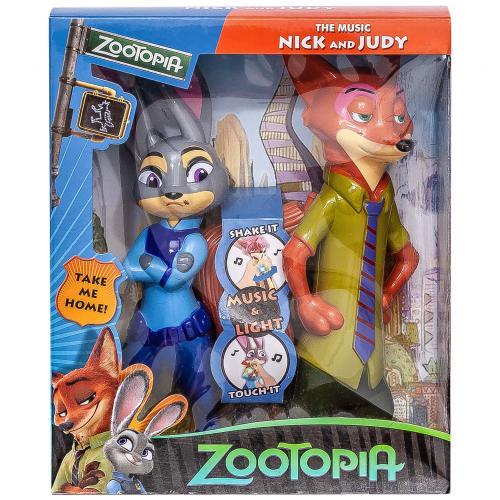 Набор музыкальных фигурок Zootopia Nick and Judy оптом