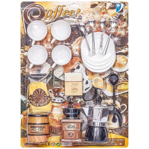 Набор детской посуды для кофе Coffee House оптом