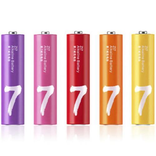 Батарейки Xiaomi Rainbow 7 АAA Batteries 10 шт оптом