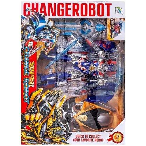 Робот-трансформер Change Robot синий оптом