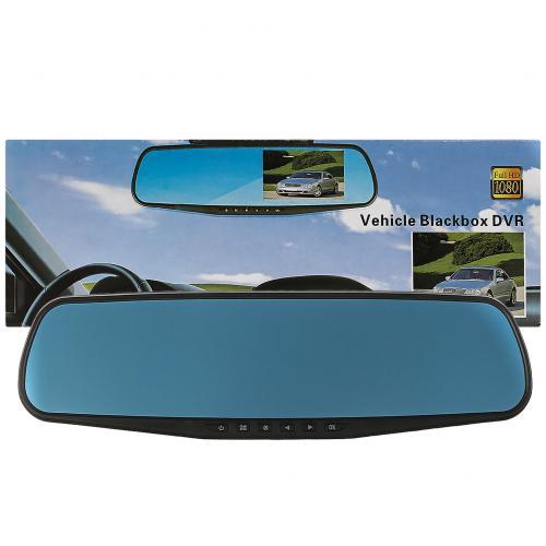 Зеркало видеорегистратор Vehicle Blackbox DVR Full HD оптом