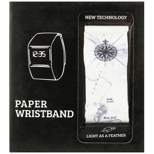 Бумажные часы Paper Watch Wristband оптом