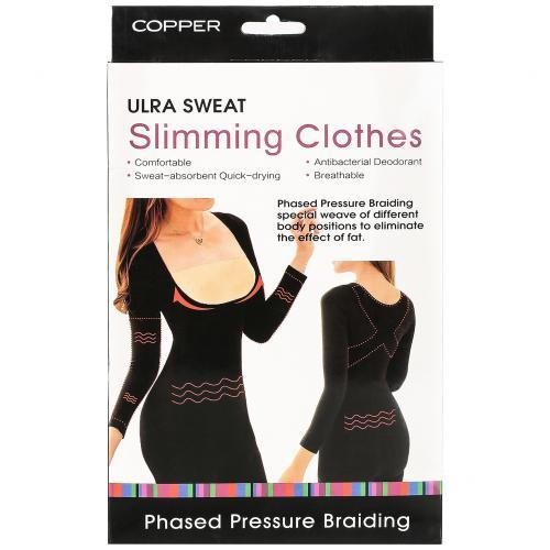 Корректирующая майка с длинными рукавами Ultra Sweat Slimming Clothes оптом