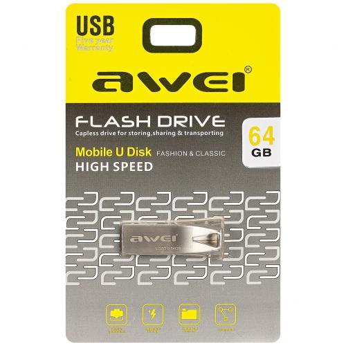 Flash накопитель Awei USB Flash Drive64 GB оптом