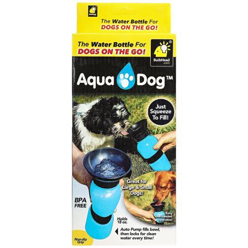 Поилка для собак Aqua Dog 550 мл бежевая оптом