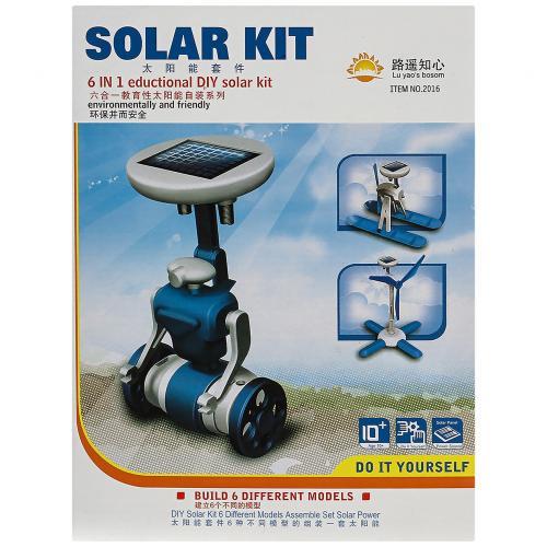 Конструктор на солнечной батарее Solar Kit 6 в 1 оптом