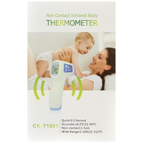 Термометр бесконтактный  2 в 1 CK-T1501 оптом
