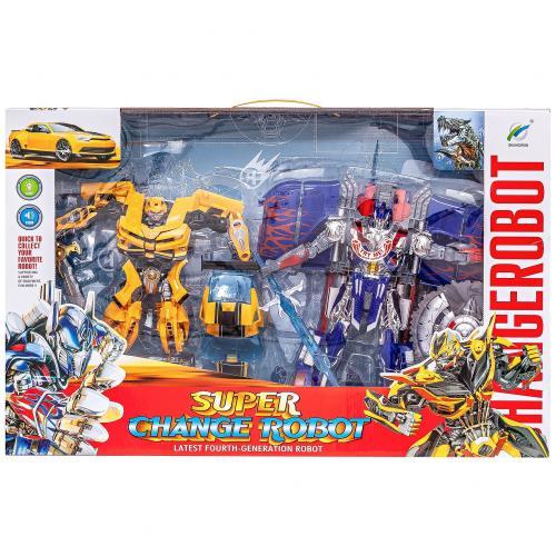 Набор роботов трансформеров  Super Change Robot оптом