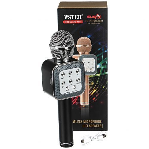 Беспроводной караоке микрофон Wster WS-1818 оптом
