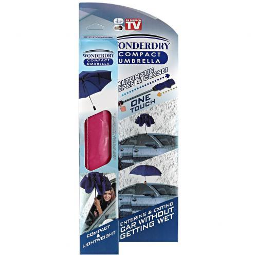 Обратный ветрозащитный зонт Wonderdry Compact Umbrella оптом
