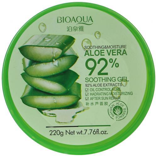 Увлажняющий гель для лица и тела Bioaqua с натуральным соком Aloe Vera 220 гр оптом