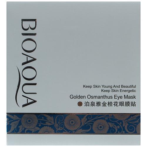 Маска для кожи вокруг глаз Bioaqua Golden Osmanthus Eye Mask оптом