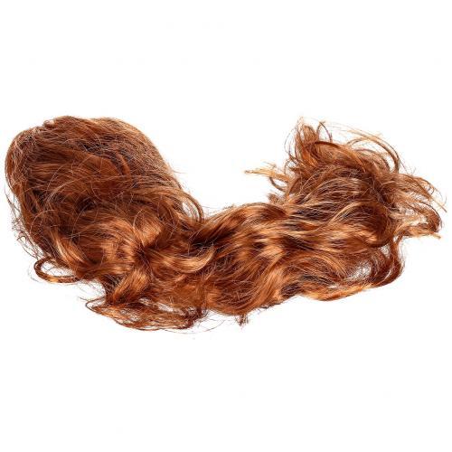 Парик рыжий из длинных волнистых волос оптом