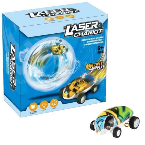 Светящаяся машинка в шаре Laser Chariot оптом