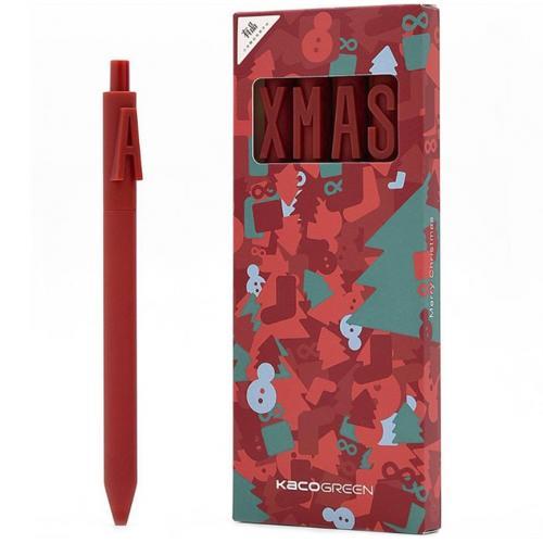Набор гелевых ручек Xiaomi Alpha Letter Gel Pen 0.5 мм Black For Christmas Gift оптом