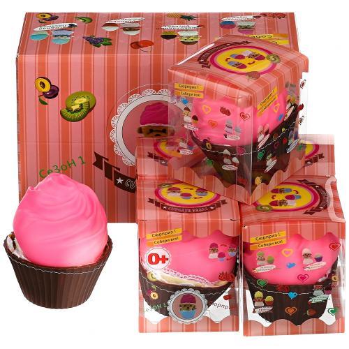 Мягкая игрушка Медвежонок в капкейке Cupcake Bears оптом