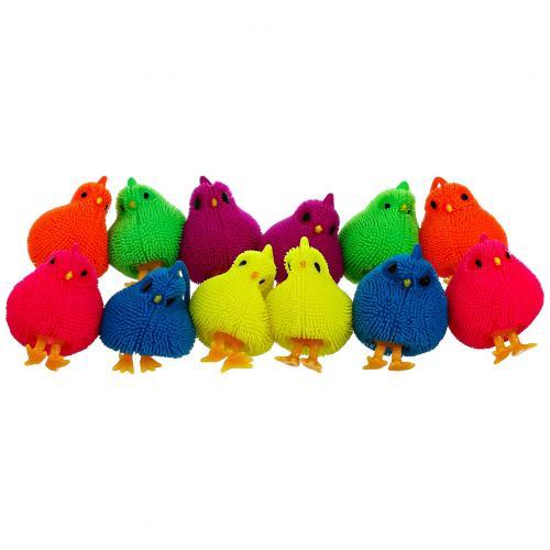 Игрушка-антистресс Цыпленок со шнурком My lovely farm 12 шт оптом