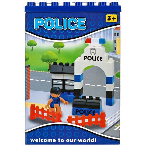 Конструктор Police 26 деталей оптом
