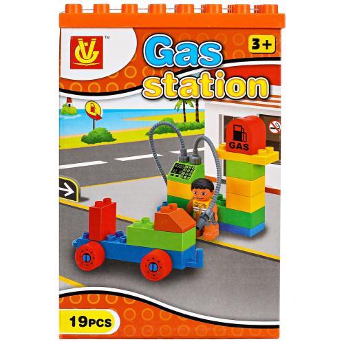Конструктор Gas Station 19 деталей оптом