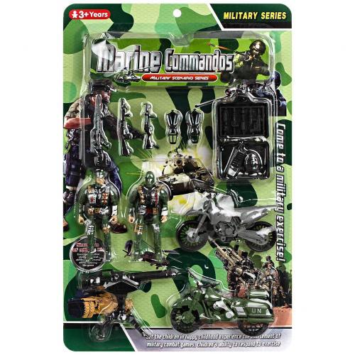 Игровой набор фигурок Marine Commandos оптом
