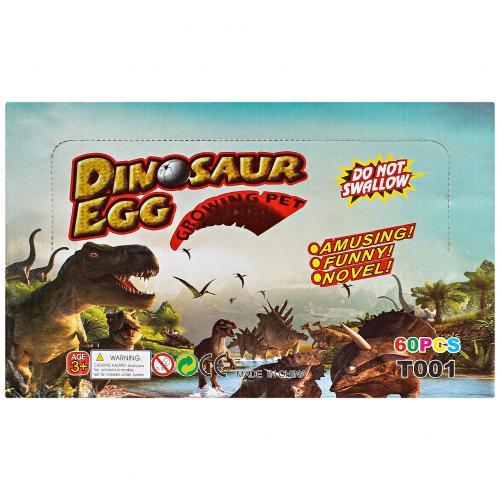 Магическое яйцо Динозавра Dinosaur Egg 60 шт оптом