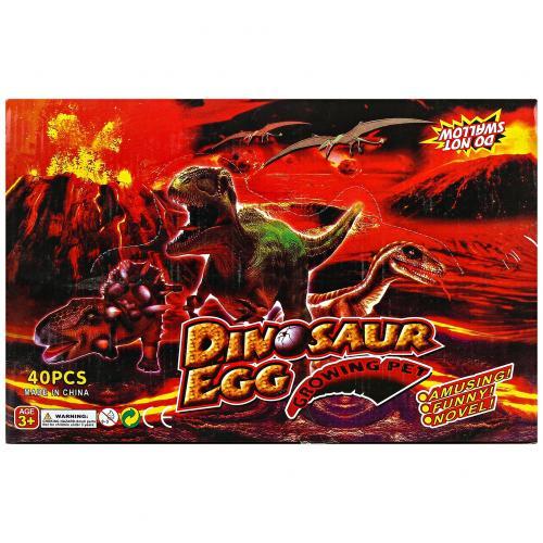 Магическое яйцо Динозавра Dinosaur Egg 40 шт оптом
