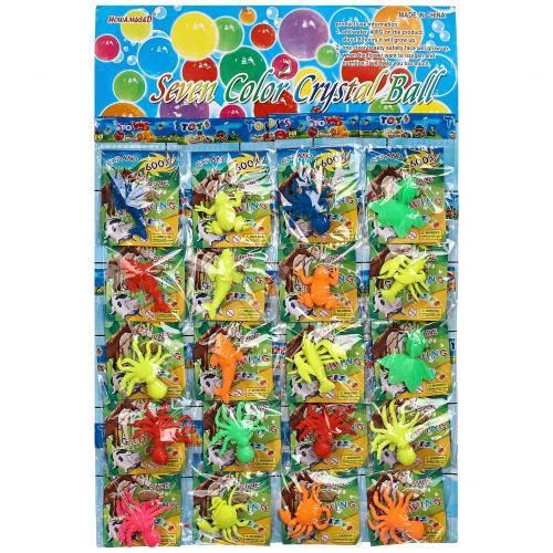 Набор растущих в воде игрушек Seven Color Crystal Ball 20 шт оптом