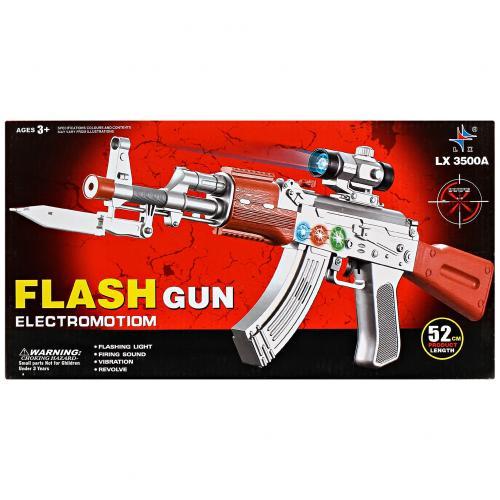 Игрушечный автомат Flash Gun с прицелом оптом