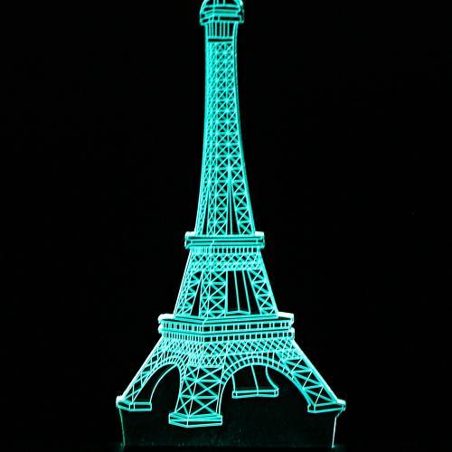3D светильник Эйфелева башня оптом