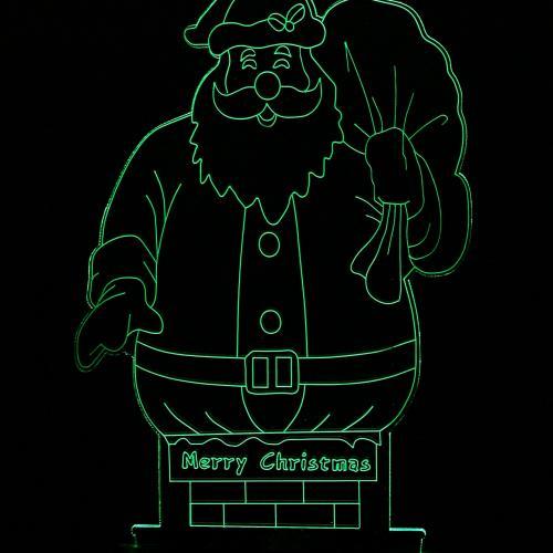 3D светильник  Дед Мороз оптом