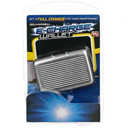 Кошелек-зарядка E-Charge Wallet 10000 мАч оптом