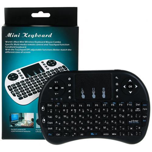 Беспроводная клавиатура с тачпадом NicePrice Rii mini i8 оптом