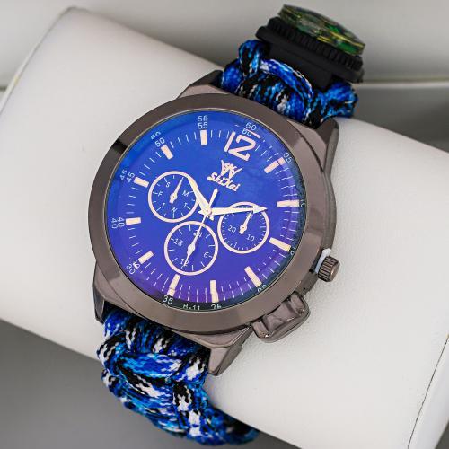 Наручные часы для выживания Paracord Fire Starter Bracelet оптом