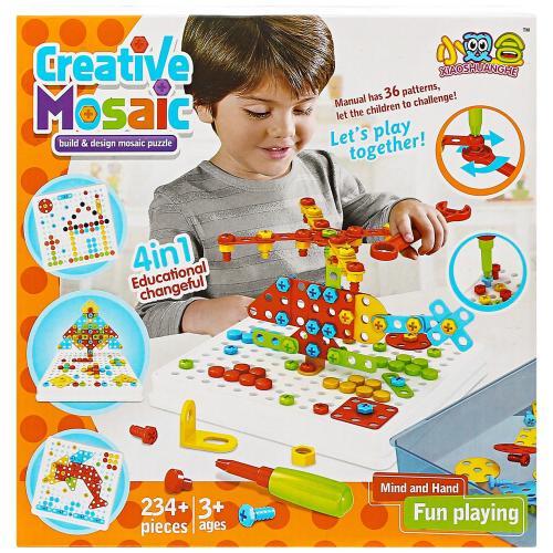 Конструктор-мозаика Creative Mosaic 234 детали оптом