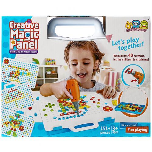 Конструктор-мозаика Creative Magic Panel 151 деталь оптом