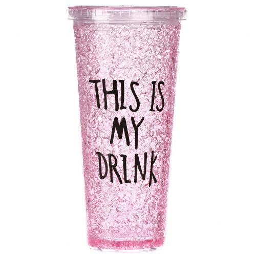 Охлаждающий стакан This Is My Drink 500 мл оптом