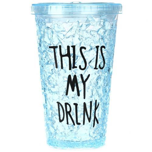 Охлаждающий стакан This Is My Drink 380 мл оптом