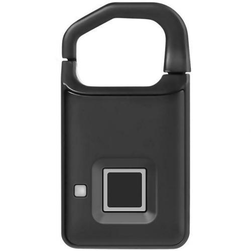Навесной замок со сканером отпечатка пальцев Fingerprint Lock P4 оптом
