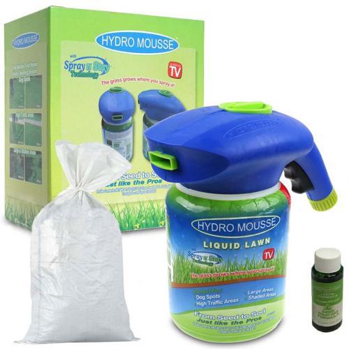 Жидкий газон Hydro Mousse с семенами оптом