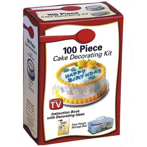 Набор для украшения тортов 100 Piece Cake Decorating Kit оптом